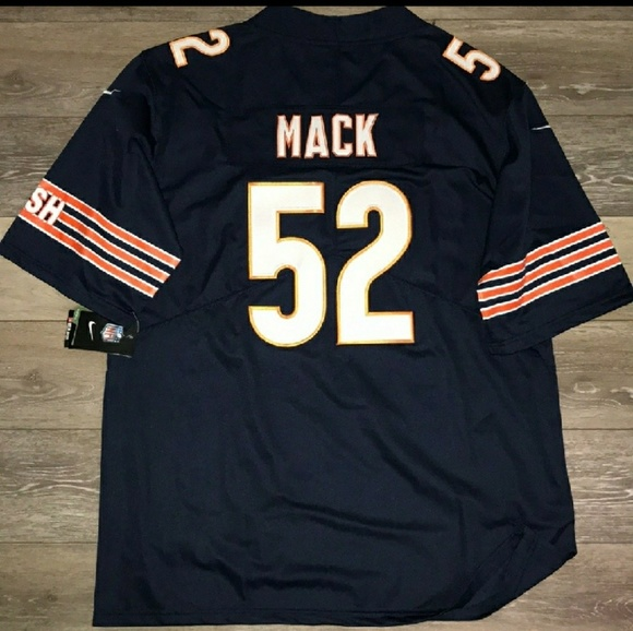 new arrival 2a965 120ca CHICAGO BEARS #52 MACK JERSEY